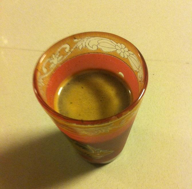 איך מכינים קפה שחור - תוצאה סופית