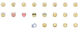 איך עושים לב בפייסבוק - שיטה 2